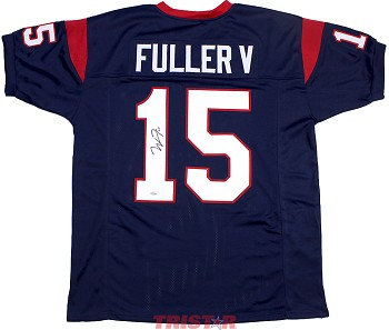 Will Fuller Autographed Houston Texans Custom Jersey