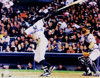 Alfonso Soriano Autographed New York Yankees 16x20 Photo