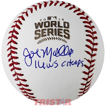 John Mallee Autographed 2016 World Series Baseball