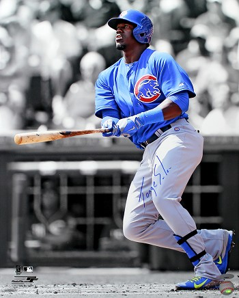 Jorge Soler Autographed Chicago Cubs 16x20 Photo