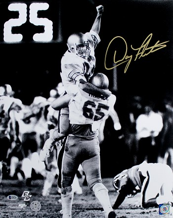Doug Flutie Autographed Boston College Hail Mary 16x20 Photo