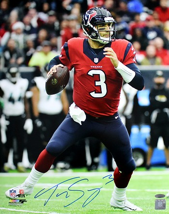 Tom Savage Autographed Houston Texans 16x20 Photo