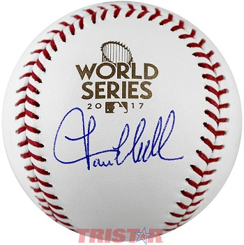 Lance McCullers Jr. Autographed 2017 World Series Baseball
