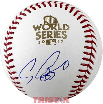 Craig Biggio Autographed 2017 World Series Baseball