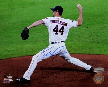 Luke Gregerson Autographed Houston Astros 8x10 Photo