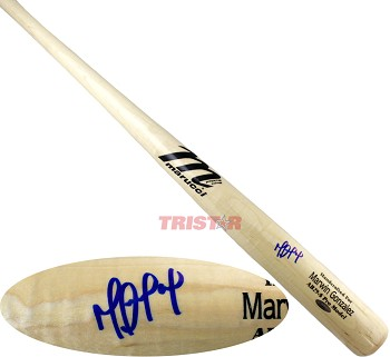 Marwin Gonzalez Autographed Marucci Game Model Bat