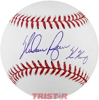c64d3b86181 Nolan Ryan Autographed MLB Baseball