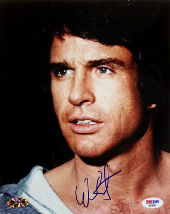 Warren Beatty Autographed 'Heaven Can Wait' 8x10 Photo