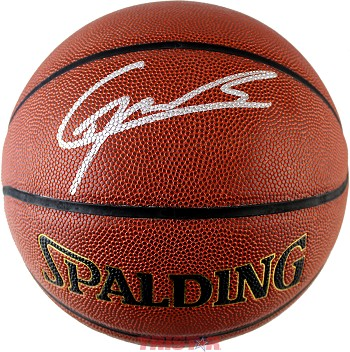 Clint Capela Autographed  Spalding Indoor/Outdoor NBA Basketball