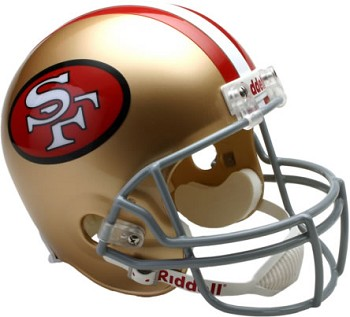 San Francisco 49ers Throwback (64-95) Replica Full Size Helmet