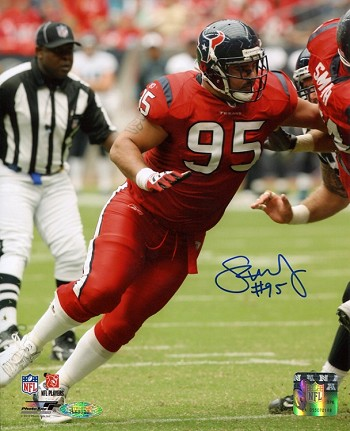 Shaun Cody Autographed Houston Texans 8x10 Photo