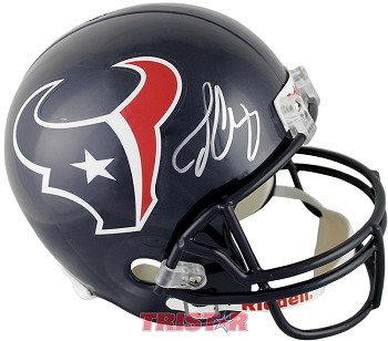 Jadeveon Clowney Autographed Houston Texans Full Size Replica Helmet