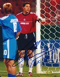 Tony Meola Autographed Kansas City Wizards 8x10 Photo
