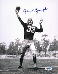 Sammy Baugh Autographed Redskins Passing 8x10 Photo