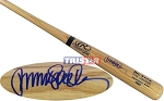 Ryne Sandberg Autographed Rawlings Name Model Blonde Bat