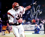 Ickey Woods Autographed Cincinnati Bengals 8x10 Photo