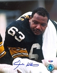 Ernie Holmes Autographed Pittsburgh Steelers 8x10 Photo