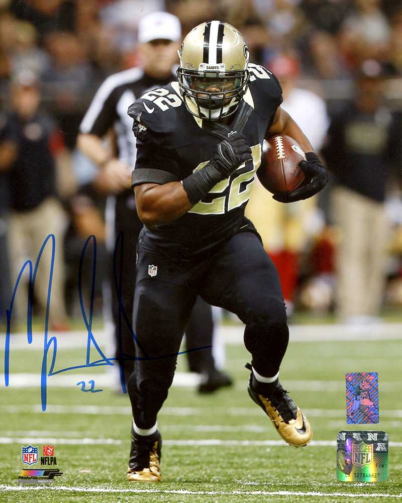 Mark Ingram Autographed New Orleans Saints 8x10 Photo