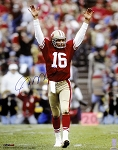 Joe Montana Autographed San Francisco 49ers 16x20 Photo