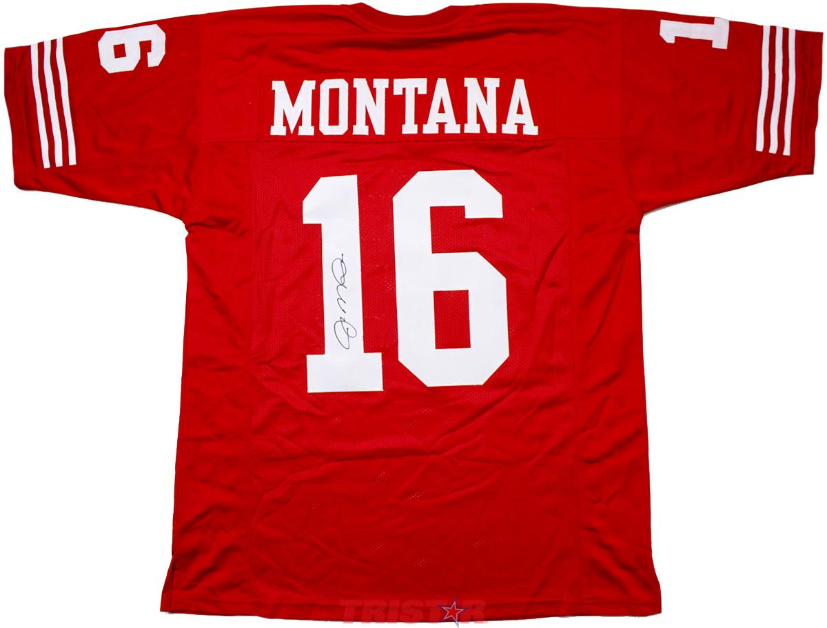 Joe Montana Autographed San Francisco 49ers Custom Jersey