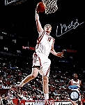 Chase Budinger Autographed Houston Rockets 8x10 Photo