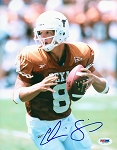 Chris Simms Autographed University of Texas Longhorns 8x10 Photo