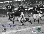 Sammy Baugh Autographed Washington Redskins Running 8x10 Photo