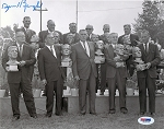 Sammy Baugh Autographed Inaugural Hall of Fame Induction 8x10 Photo