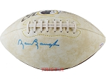 Sammy Baugh Autographed Washington Redskins Logo Football