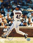 Henry Rodriguez Autographed Chicago Cubs 8x10 Photo