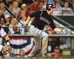 Brad Hawpe Autographed Colorado Rockies 2007 NLDS 8x10 Photo