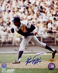 Fergie Jenkins Autographed Chicago Cubs 8x10 Photo Inscribed HOF 81