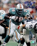 Richmond Webb Autographed Miami Dolphins 8x10 Photo Inscribed 7x Pro Bowl