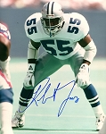 Robert Jones Autographed Dallas Cowboys 8x10 Photo