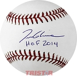 Tom Glavine Autographed Official ML Baseball Inscribed HOF 2014