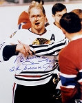 Bobby Hull Autographed Chicago Blackhawks 16x20 Photo Inscribed Golden Jet