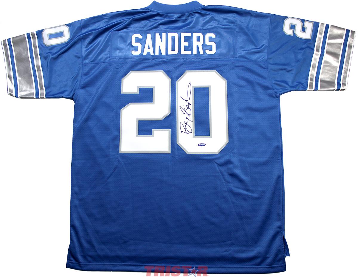 Barry Sanders Autographed Detroit Lions NFL ProLine Jersey