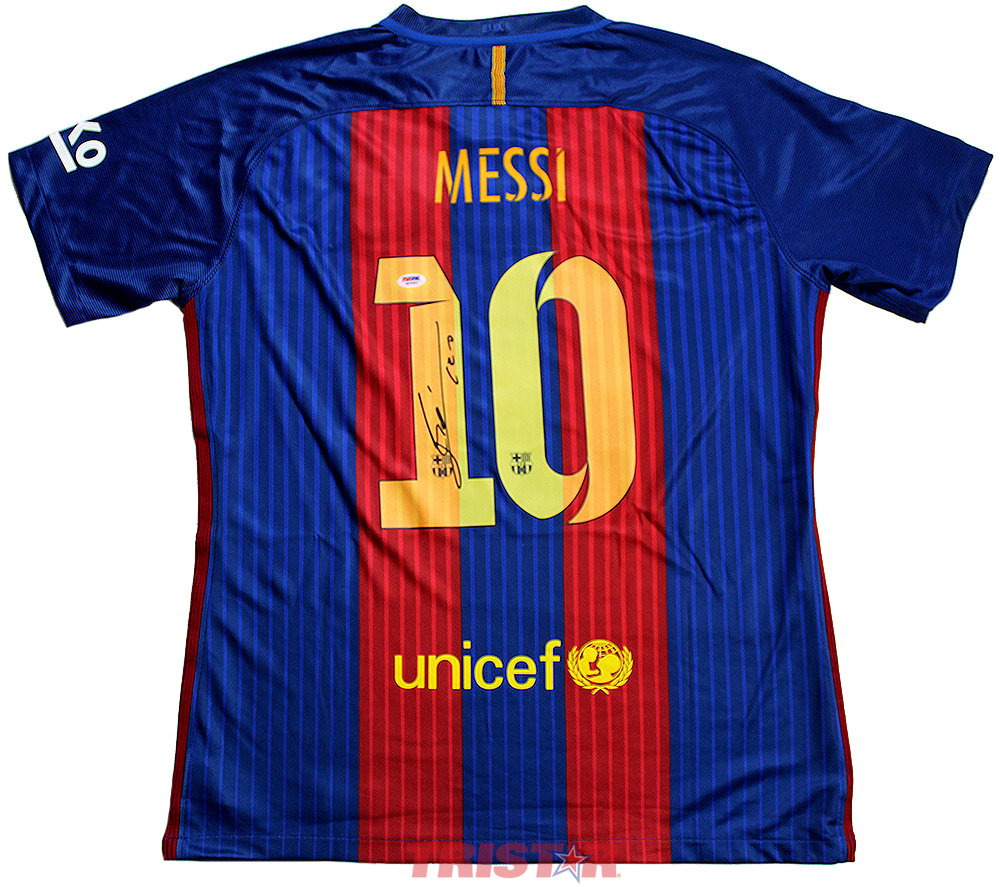 661bb0577 Lionel Messi Autographed Barcelona Nike Authentic Jersey