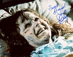 Linda Blair Autographed Exorcist Demon 8x10 Photo Inscribed Sweet Dreams
