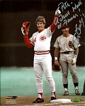 Steve Garvey Autographed 8x10 Photo Inscribed Pete A True Hall of Famer
