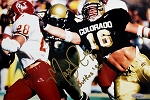 Matt Russell Autographed Colorado Buffaloes 8x12 Photo Inscribed Butkus 96