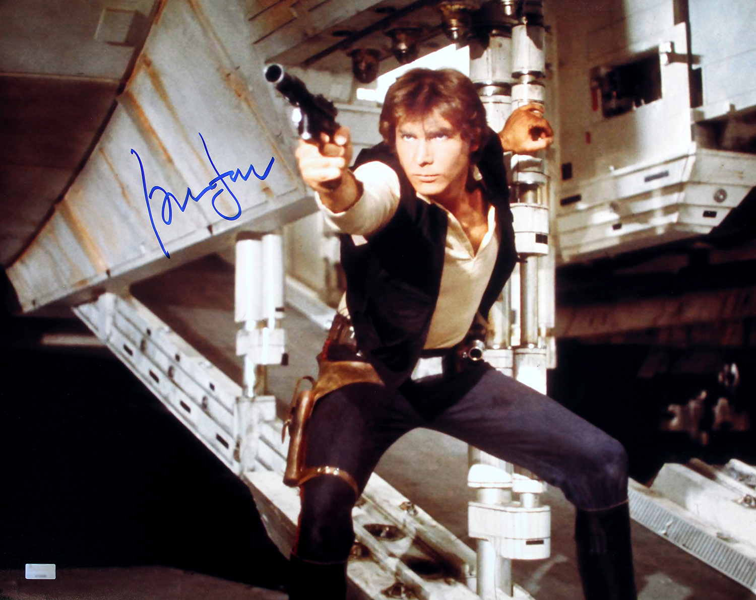 HARRISON FORD STAR WARS SIGNED 8X10 PHOTO AUTOGRAPHED RP