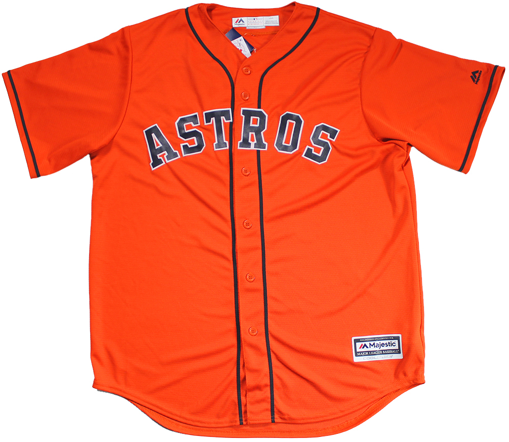the best attitude 855bc fd669 Carlos Correa Autographed Houston Astros Orange Replica Jersey