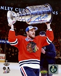 Andrew Shaw Autographed Chicago Blackhawks 2015 Stanley Cup Champs 8x10 Photo