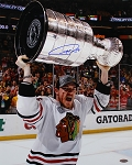 Andrew Shaw Autographed Chicago Blackhawks 2013 Stanley Cup 16x20 Photo
