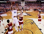 Jahlil Okafor Autographed Duke 2015 NCAA Championship Lay Up 16x20 Photo