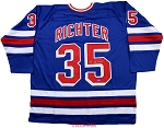 Mike Richter Autographed New York Rangers Custom Jersey