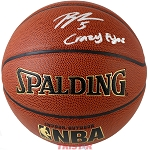Bobby Portis Autographed Spalding I/O NBA Basketball Inscribed Crazy Eyes