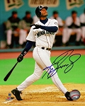 Ken Griffey Jr. Autographed Seattle Mariners 8x10 Photo