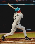 Jeff Conine Autographed Florida Marlins 8x10 Photo